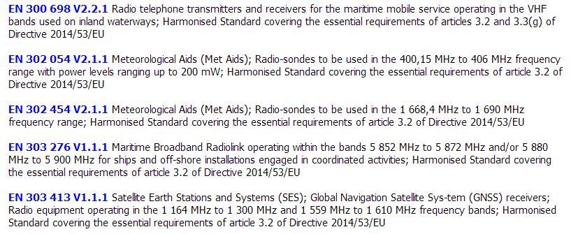 【RED】EN303 413不再强制由NB机构进行符合性评估