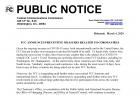 【摩尔资讯】受疫情影响,FCC暂时免除DFS现场测试