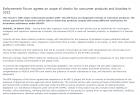【jrs直播西甲资讯】欧盟ECHA将于2022年大量抽检消费品合规情况